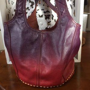 Lucky Brand Ombré Bucket Hobo Bag